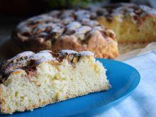 Ciasto z rabarbarem i cynamonem