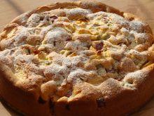 Ciasto z rabarbarem i jabłkami