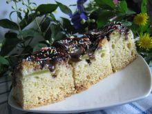 Ciasto z rabarbarem i polewą