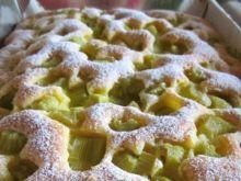 Ciasto z rabarbarem lucyny