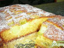Ciasto z rabarbarem wg goyaczek