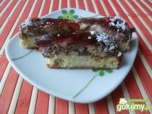 Ciasto z serem i galaretką