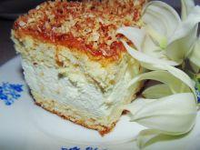 Ciasto z serową masą i kokosem