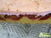 Ciasto  z  śliwkami węgierkami