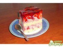 Ciasto z trudskawkami