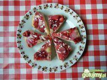 Ciasto z truskawkami i agrestem