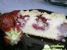 Ciasto z truskawkami i kruszonką