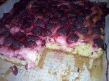 Ciasto z truskawkami na oliwie