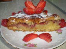 Ciasto z truskawkami -pychotka