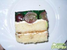 Ciasto z winogronem