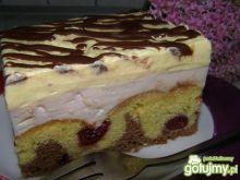 Ciasto z wiśniami wg Bo