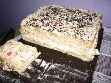 Ciasto z wkładką kokosową i pyszną masą