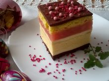 Ciasto z wkładką serową