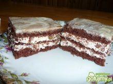 Ciasto z z kremem bakaliowym