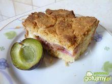 Ciasto ze śliwkamiwg mikidziuba