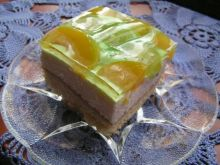 Ciasto ze smietana i owocami