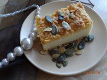Ciasto ze śmietany z pestkami dyni
