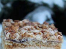 Ciasto zimowe z orzechami