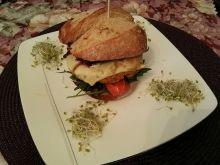 Cieciorkowe cheesburgery