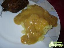Ciemny sos pieczeniowo - cebulowy