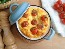 Cocotte z ricottą i pomidorkami
