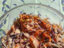 Coleslaw biało-czerwony