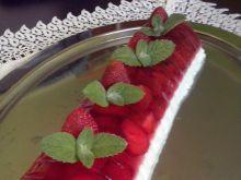 Comber serowo truskawkowy