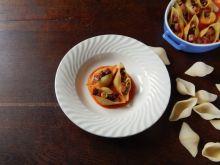 Conchiglioni z Pancettą i suszonymi pomidorami