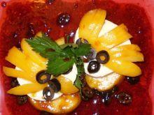 Cremoselle z brzoskwinią :