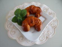 Croissanty z nadzieniem waniliowym