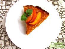 Crostata z  dynią i nektarynkami