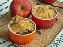 Crumble jabłkowe z granolą