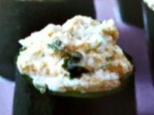 Cukinia faszerowana kozim serem