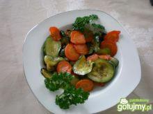 Cukinia z marchewką