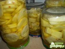 Cukinia z przyprawą vegeta