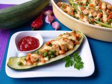 Cukinia zapiekana z mięsem i warzywami