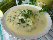 Cukiniowa zupa z ryżem
