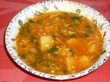 Cukiniowa zupka z warzywami