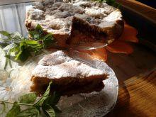Cukiniowe ciasto z wiśniami