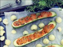 Cukiniowe łódeczki z mięsem i kuskusem