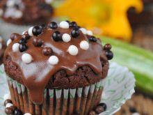 Cukiniowo- czekoladowe muffinki