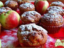 Cukiniowo jabłkowe babeczki