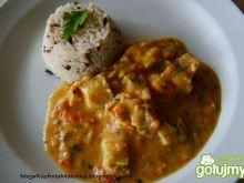 Curry z dorszem