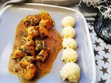 Curry z kurczakiem i kuskusem