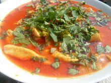 Curry z kurczakiem w mleku kokosowym