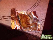 Ćwiartki kurczaka marynowane- pieczone