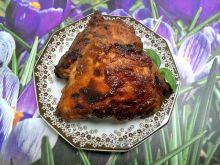 Ćwiartki kurczaka pieczone w marynacie