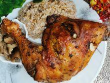 Ćwiartki kurczaka pieczone w przyprawach