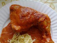 Ćwiartki kurczaka po węgiersku