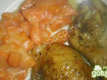 Ćwiartki z kurczaka garam masala
